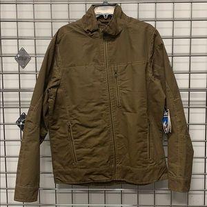Men's Burr Jacket size Large Khaki